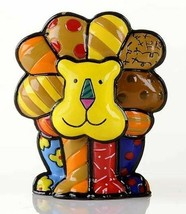 Romero Britto Mini Lion Figurine #331846 Rare Collectible