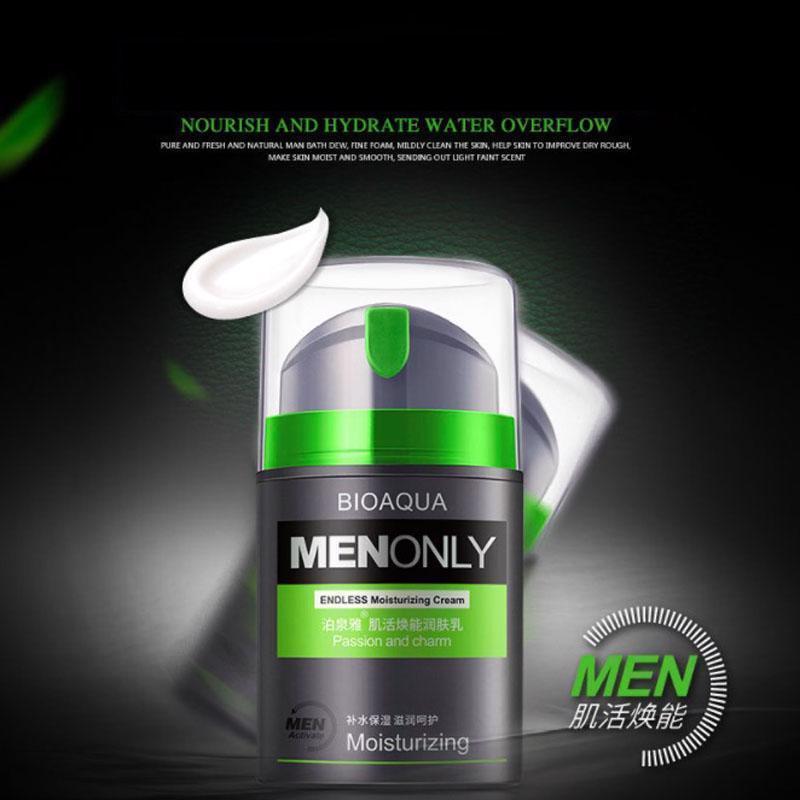 Skin Care Men Deep Moisturizing Oil-control Face Cream Hydrating Ageless Wrinkle image 2