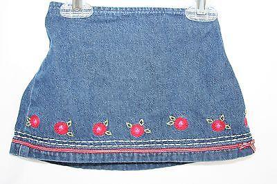 The Children's Place and Koala Kids Outfit Red Polka Dot Shirt Denim Skirt 18 Mo