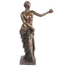 10.75 Inch Bronze Colored Venus De Milo Reconstructed Figurine - $42.77