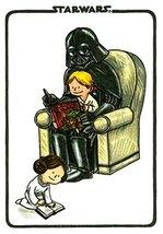 Darth Vader and Son Journal (Illustrated Star Wars Blank Journal, Darth ... - $3.76