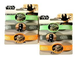 Star Wars Baby Yoda Wristbands Birthday Party Supplies 2 Pack (3 In Each) - $13.99