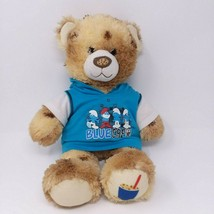 "Build A Bear 16"" Dairy Queen Cookie Dough Blizzard Plush Blue Smurfs Hoo... - $24.95"