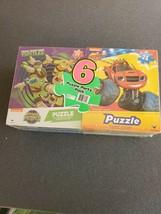 Ninja Turtles, Paw Patrol, Blaze, Puzzles - 6 Puzzle Party Pack  24 pcs - $10.69