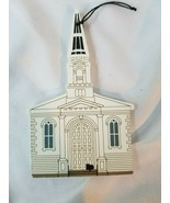 Cat's Meow Unitarian Church Ornament - Limited Edition 1995 - $5.89