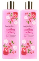 (Pack of 2) Bodycology Sparkling Cranberry Body Wash & Bubble Bath - 16 oz. - $19.79