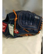 "Rawlings G115PTR GG Gamer XLE 11.25"" RHT Blue/Orange Glove - $69.05"