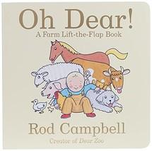 Oh Dear!: A Farm Lift-the-Flap Book (Dear Zoo & Friends) [Board book] Ca... - $4.95