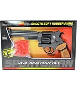 44 Magnum Toy Gun Boxed Set 40 Rubber Ammo Included - $21.64