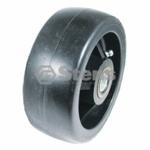 "PLASTIC DECK WHEELS (2) replaces AM104126, 50"", 60"" and 72"" front cut decks - $19.75"