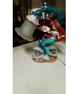 RARE Spectacular Disney Store Ariel Little Mermaid Lamp - $346.50