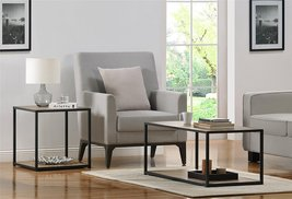 Altra Canton Coffee Table with Metal Frame, Sonoma Oak - $118.41 CAD