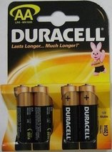 Duracell Aa Battery (pack Of 4) - $11.99
