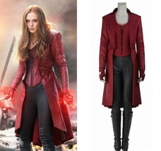 Captain America Civil War Scarlet Witch Costume Wanda Maximoff Cosplay C... - $139.00