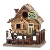 Gifts & Decor Wood Yacht Club Nautical Bird House/Feeder - $24.81