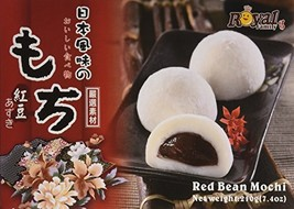 Royal Family Japanese Rice Cake Mochi Daifuku Red Bean, 7.4 Ounce - $6.84