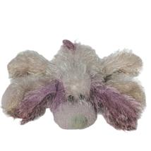 "Ty Beanie Babies Punkies Pink Long Hair Dog Plush Stuffed Animal 2002 9"" - $25.74"