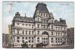 Post Office Boston Massachusetts 1910c postcard - $3.96