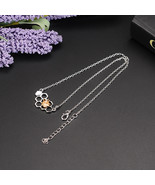 Charm Fashion Silver Necklaces for Women Girl Heart Honeycomb Bee Animal  - $16.23
