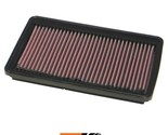 K&N Replacement Air Filter Fits Hyundai Accent 1.5L, 1995-1999 33-2161