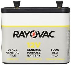 RAYOVAC General Purpose Lantern Battery, 12 Volt, Screw Terminals, 926C - $16.81
