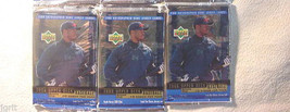 3 new baseball PACKs - 1999 UPPER DECK  - sealed - $6.88