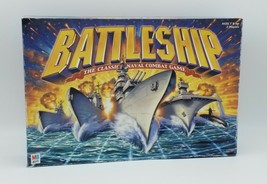 Milton Bradley Battleship Board Game 2002 Classic Naval Combat Hasbro Used - $16.83