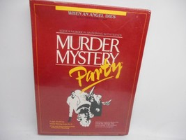 Old Vtg 1986 UNIVERSITY GAMES MURDER MYSTERY PARTY GAME UG2060 FACTORY S... - $29.69