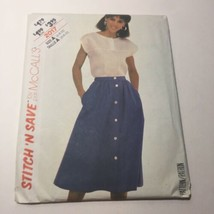 Easy Stitch 'n Save 2017 Size 6-10 Misses' Top and Skirt - $11.64