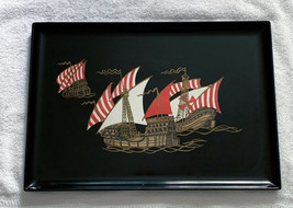 Couroc Monterey California Christopher Columbus Ship Niña Pinta Santa Ma... - $42.52