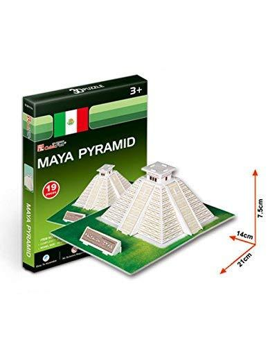 PANDA SUPERSTORE The Pyramids Three-Dimensional Building of Manual Assembly Pape