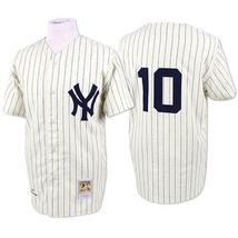 The Major League Movie New York Yankees 10 Phil Rizzuto Jersey Cream Sti... - $809,11 MXN