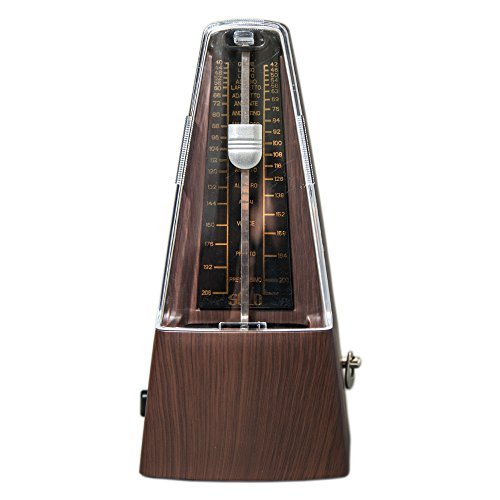 High Quality New Style SOLO350 Mechanical Metronome TEAK Color
