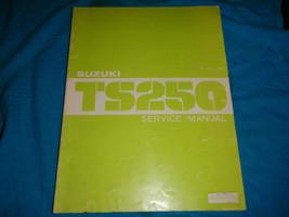 1981 81 Suzuki TS250 Ts 250 Shop Service Repair Manual - $31.22