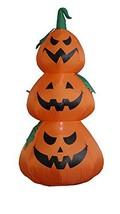 BZB Goods 4 Foot Tall Illuminated Halloween Inflatable Jack-O-Lantern St... - $40.96