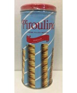 Creme De Pirouline Vanilla Cream-Filled Wafers Limited Edition 3.25 Oz Tins - $24.70