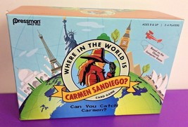 Where In The World Is Carmen Sandiego Card Game Pressman Target COMPLETE - $15.88