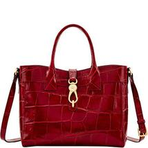 Dooney and Bourke Pembrook Large Amelie Tote Wine image 3