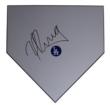 L.A. Dodgers Yasiel Puig Signed Autographed Baseball Home Plate Base Pro... - $148.49