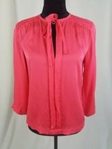 Diane von Furstenberg women 4 pink Anne silk blend blouse - $44.55