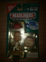 1999 LIMITED EDITION MLB HEADLINERS FIGURE Mark McGwire 0016 OF 14000 - $5.94
