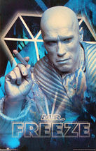 "1997 BATMAN & ROBIN Movie MR. FREEZE Original POSTER 23x34.5"" 3182 DC Co... - $19.99"