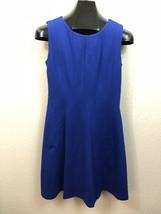 Philosophy Royal Blue Sleeveless Stretch Fit & Flare Dress Size 6 - $14.84