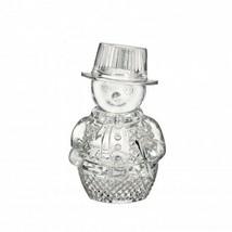 Waterford Crystal Snowman Sculpture Figurine New box # 40023138 - $227.21