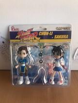 Pinky: Street Fighter Chun Li & Sakura Action Figure Brand NEW! - $22.99