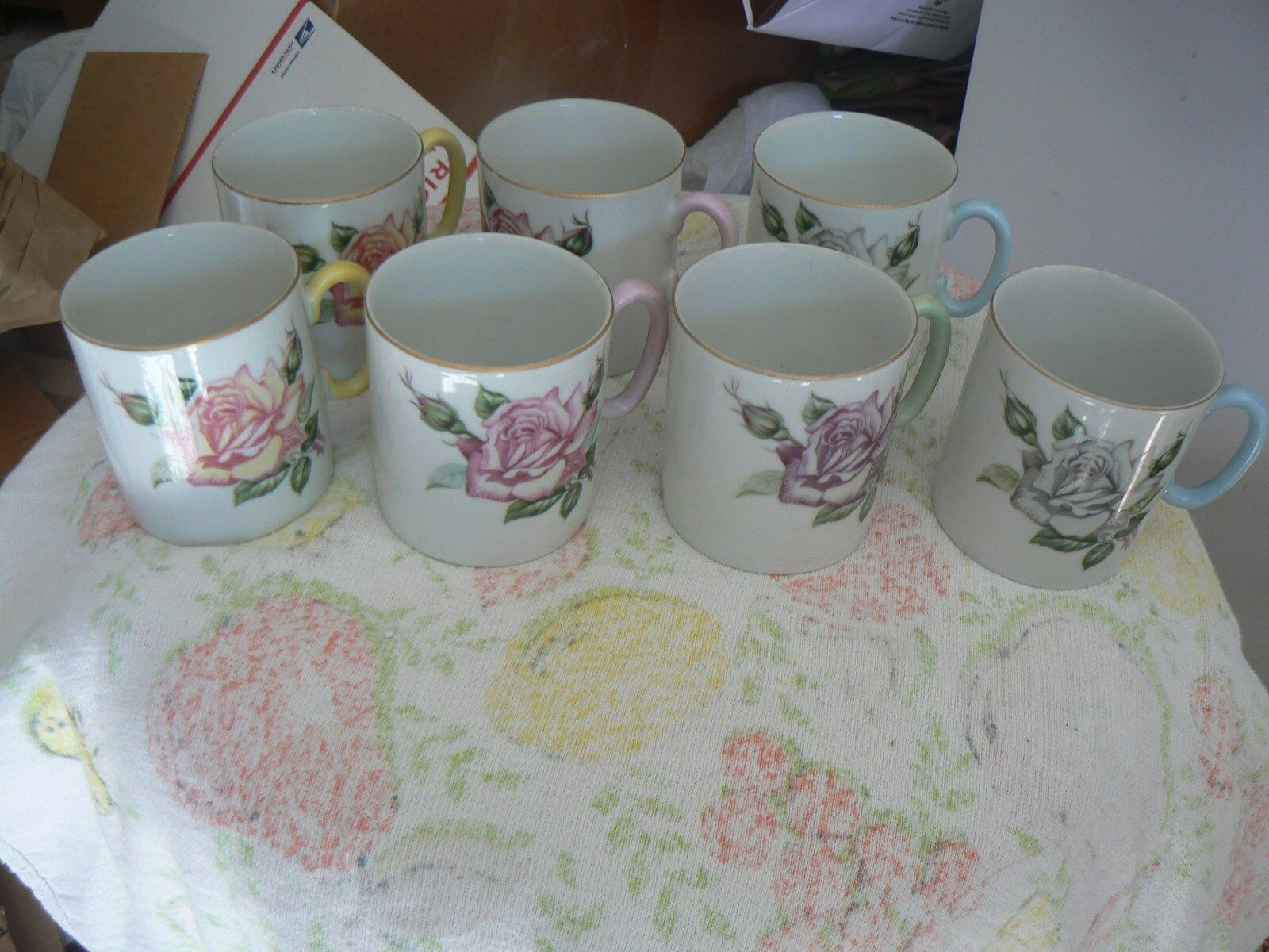 Primary image for Lefton set of 7 cups () 1 set available