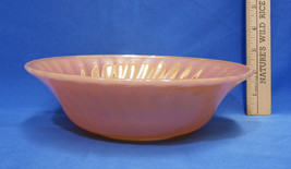 Vintage Anchor Hocking Serving Bowl Fire King Peach Luster Oven Proof USA - $19.79