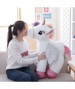 50/60/90cm Unicorn with Wings Plush Toy Giant Stuffed Animal Horse Kid S... - $20.80+