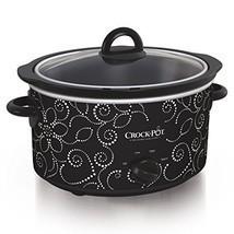 Crock-pot Scv400-pt: Manual Slow Cooker, Heart & Flower Dotted Patte - $1.106,89 MXN