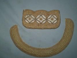 Vintage Pearl Choker & Clutch (Made in Japan) - $69.29